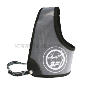 SF CHEST GUARD BLACK