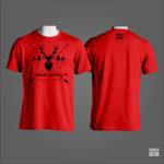 T-SHIRT WORLD ARCHERY RED