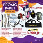 paket promo standar bow 2 cartel