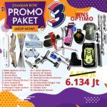 paket promo standar bow 3 wns,sf,samick